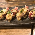 和食 縁 蕎麦切り - 河内鴨握り寿司