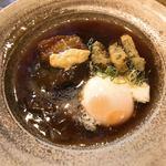 和食 縁 蕎麦切り - 近江豚の角煮と温泉たまご