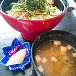 すずき家 - 地魚づけ丼1600円