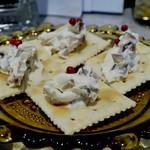 燻製バル けむパー - 区リムチーズと奈良漬け