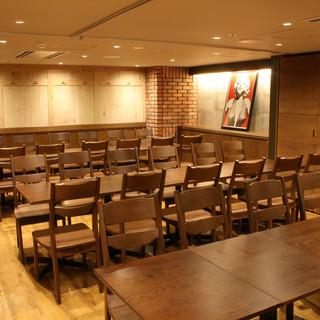 デートや女子会、ご宴会まで◎最大48席の団体様向け個室あり