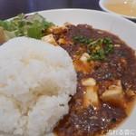 89538396 - 麻婆豆腐(ご飯大盛り)