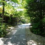 THE SODOH HIGASHIYAMA KYOTO - 広い敷地内