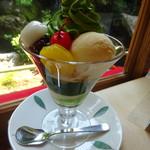 高台寺 洛匠 - 抹茶サンデー