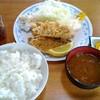 シェット - 料理写真:アジフライ定食 850円
