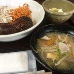 ちょんたま食堂 - 豚汁にナポリタン