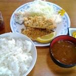 シェット - アジフライ定食 850円