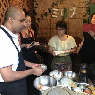 毎月の最終週の水曜日★スリランカ料理教室をミリスで開催