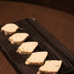 スプリングバレーブルワリー 京都 - 豆腐の燻製