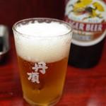 のんきや - 先ずはビール
