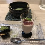 荒木町 光樹 - 甘味 と  抹茶