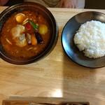 89546924 - チキンと野菜のスープカレー