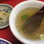 89547270 - スープ 漬物  ( ´θ`)