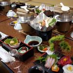 しらさぎ - 料理写真:1日目夕ご飯