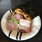 麺処 ほん田 niji - チャーシューA,C メンマX