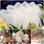 磯ぎよし - 料理写真:『天然本あらづくしコース』2018年11月よりスタート 今年より開催します!!!