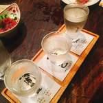 えん - 三種利き酒 飲み比べ