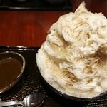 ビストロR - ほうじ茶かき氷、美味しかったです(^^)
