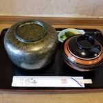 宇のじ - うな丼(肝吸付)