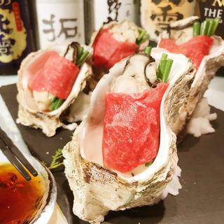 【新潟和牛の牡蠣肉】2時間飲み放題付き3500円