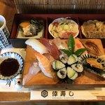 倖寿し - 料理写真:サービスランチ 寿司定食=1550円 税込
