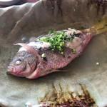 89558132 - 「近海魚煮つけ(マース煮)」(650円)