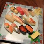 ふじ鮨 - 料理写真:旬の握り