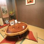 ふじ鮨 - お座敷