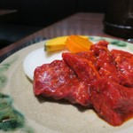 89559848 - 焼肉定食860円(税込み928円)のお肉