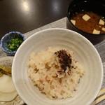 禅紫 - たこの土鍋御飯