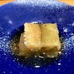 北新地 鮨 なか川 - ○茄子煮こごり様