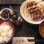 89560797 - 焼きとん定食(5本)