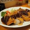 れんが亭 - 料理写真:ビーフカツデミグラアップその1