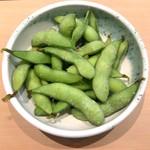 三代目 まる天 - 銚子 無農薬 茹でたて枝豆