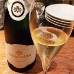 ヒロト - シャンパン(グラス)       フレデリック・マルトレ・ブリュット・レゼルヴ・プルミエ・クリュ