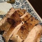 海ほう - 鶏の塩焼き、柚子胡椒添え