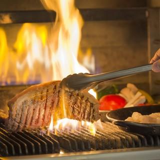 【おすすめ】灼熱の窯で焼くサーロインも食べ放題!(ランチ)