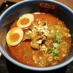 89568464 - 「肉まみれ濃厚担々麺」(1080円)