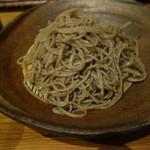 蕎麦 游山 - 料理写真:粗挽きせいろ
