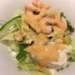 ファミール - 海老とポテトのサラダ  (サウザンドレッシング)