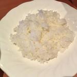 ファミール - ごはんセットのライス (味噌汁付)