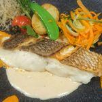 本日の鮮魚料理 フレンチスタイル