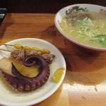 丸和前ラーメン - お店で食べました╰(*´︶`*)╯♡