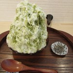 かき氷cafe さざん - 抹茶ミルク