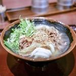香川 一福 - ■冷やかけ 430円+お肉250円