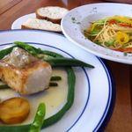 8958165 - お魚料理とパスタ