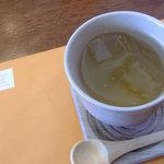 スンドゥブ トーフハウス - 食後のゆず茶