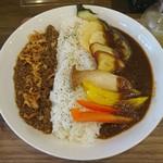 パパノカリー - 東大阪ラグカリー(野菜トッピング)