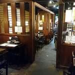 蕎麦酒肴 百景 - 蕎麦 酒肴 百景 @中葛西 typical 居酒屋さん雰囲気の暗めな店内