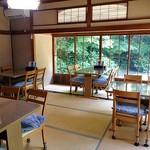 小代 行川庵 - 奥の座敷(テーブル席)